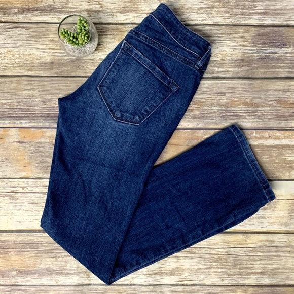 LOFT Denim - Ann Taylor LOFT Curvy Sexy Boot Cut Denim Jeans